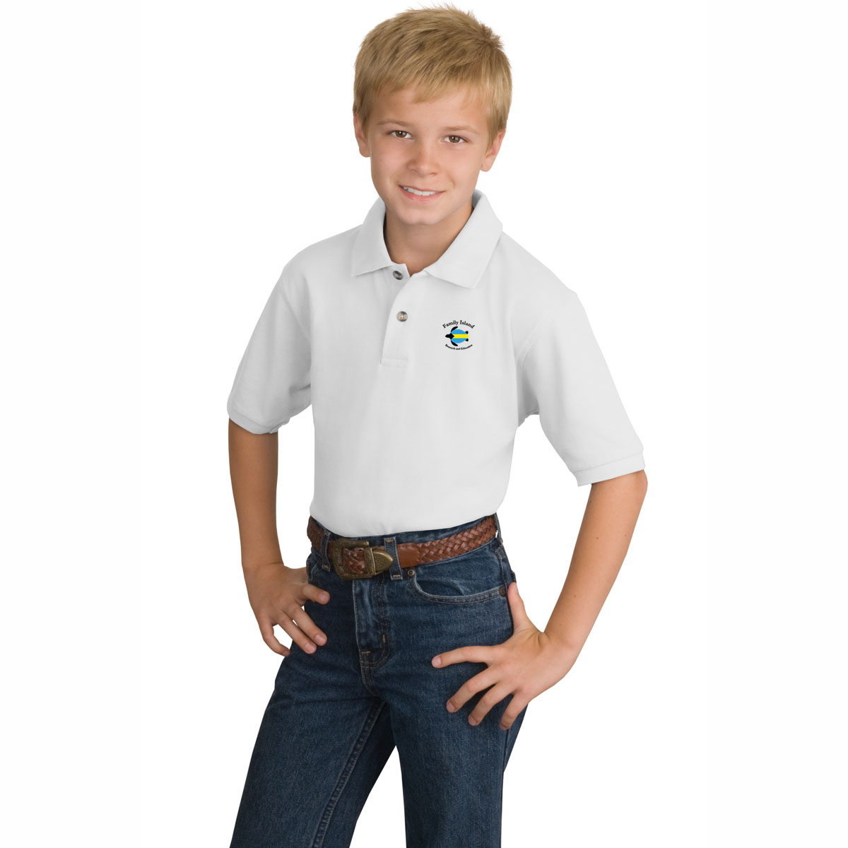 BAHAMAS SEA TURTLE RESEARCH KID'S COTTON POLO