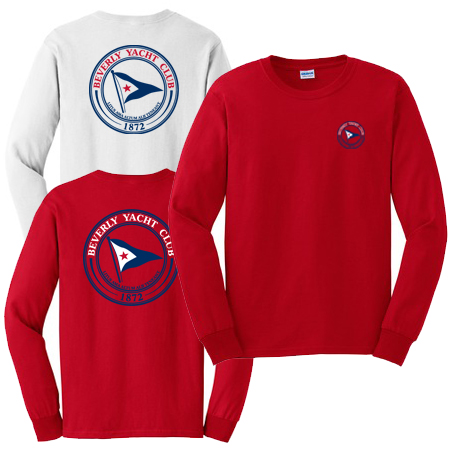 Beverly Yacht Club - Men's Long Sleeve Cotton Tee (BYC205)