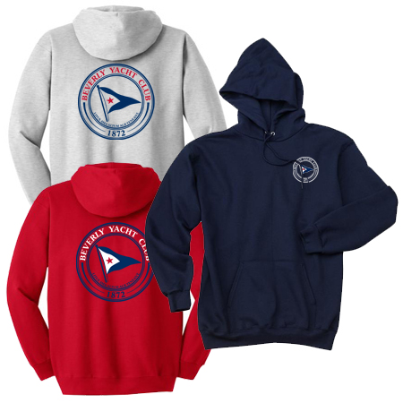 Beverly Yacht Club - Youth Hooded Sweatshirt (BYC302)