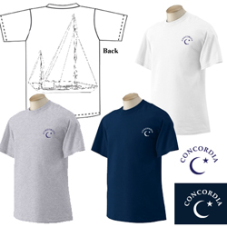 Concordia Yachts - Men's Short Sleeve Cotton Tee