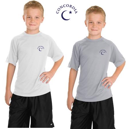 CONCORDIA - K'S S/S TECH TEE