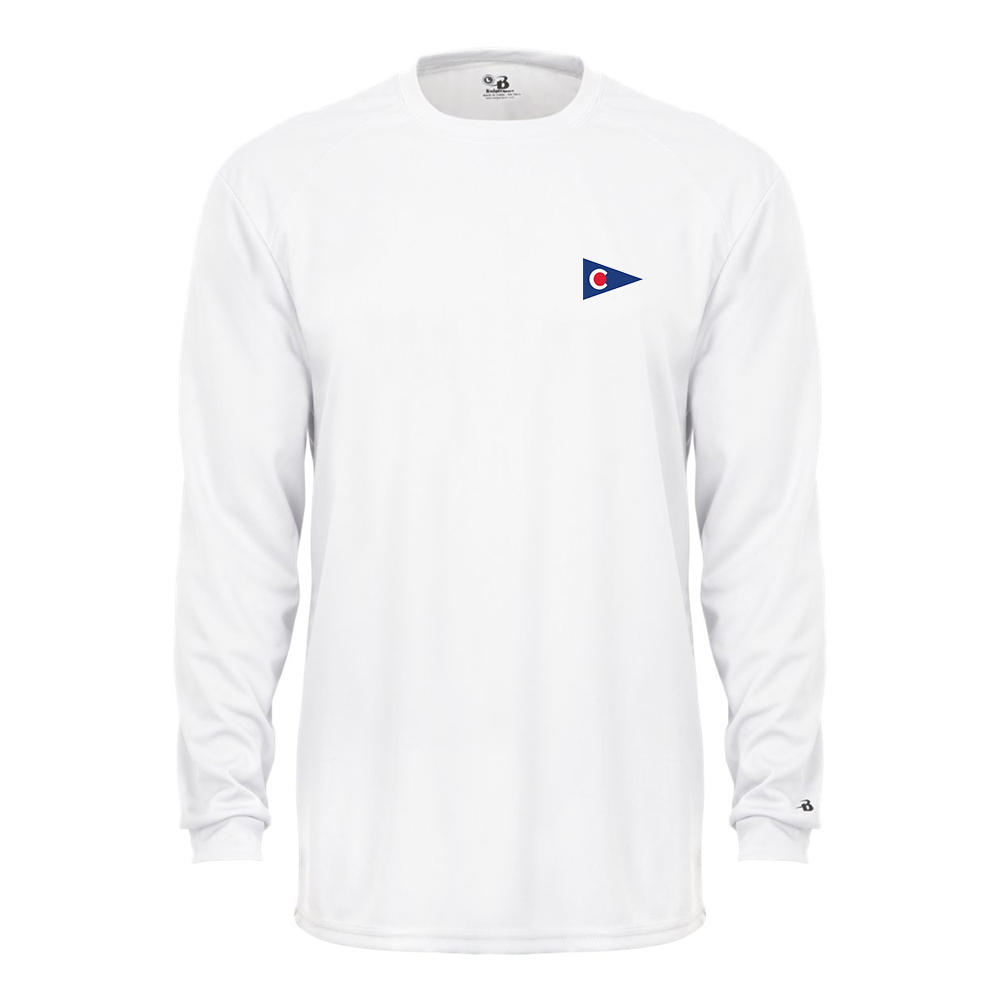 Chapoquoit Yacht Club - Kid's Tech Tee L/S