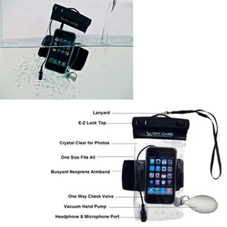 DRYCASE WATERPROOF PHONE-CAMERA-MP3 CASE (DC-13)