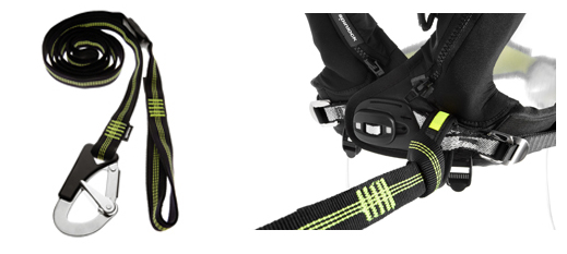 SPINLOCK DECKWARE SAFETY LINE COW HITCH/SINGLE CLIP