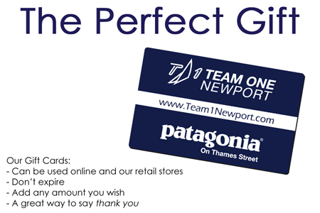 TEAM ONE NEWPORT GIFT CARDS