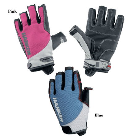 HARKEN SPECTRUM THREE QUARTER FINGER GLOVES (2086)