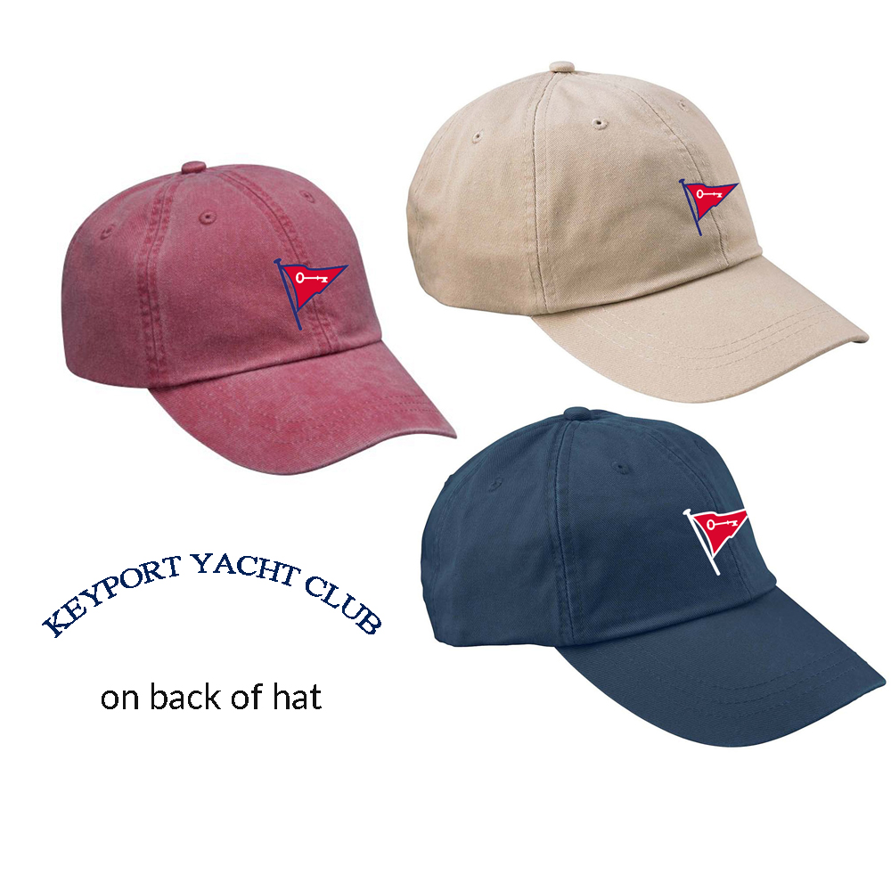 KEYPORT YACHT CLUB SAILING HAT