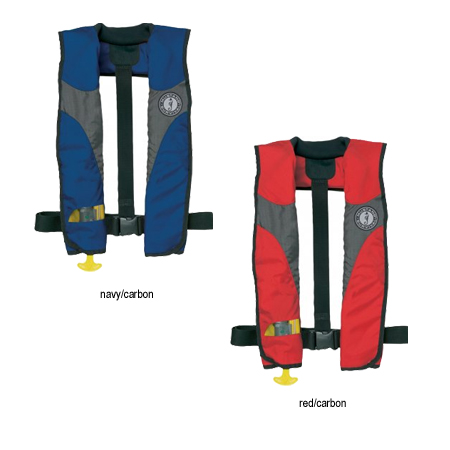MUSTANG DELUXE INFLATABLE PFD MANUAL (MD3085)