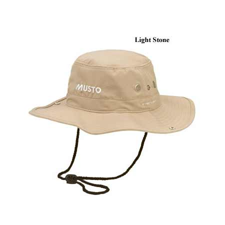 MUSTO FAST DRY BRIMMED HAT (AL1410)