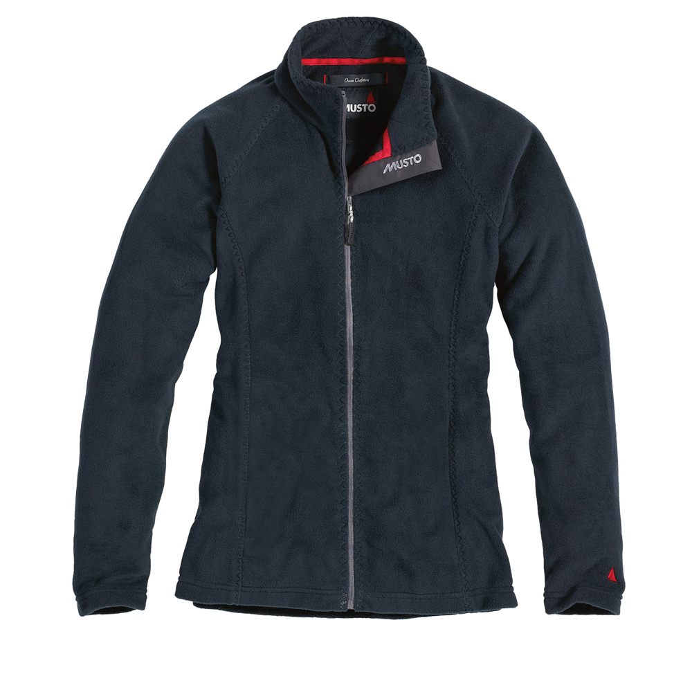 MUSTO LADIES ZIP THROUGH FLEECE (LF0010CC)