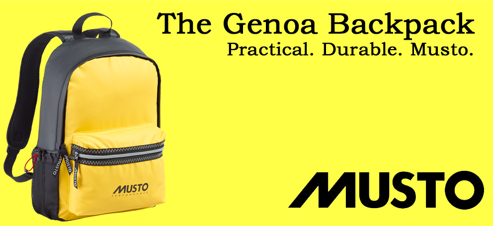 musto genoa backpack