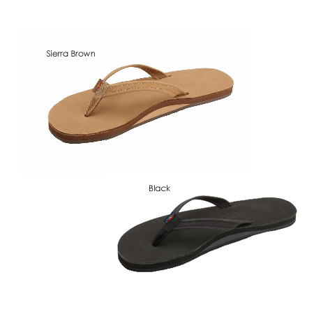 RAINBOW SANDALS WOMENS PREMIER LEATHER - NARROW STRAP