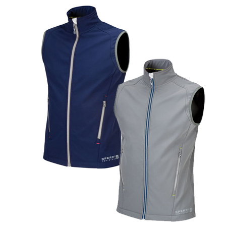 SPERRY MENS SOFTSHELL VEST (STM-05A)