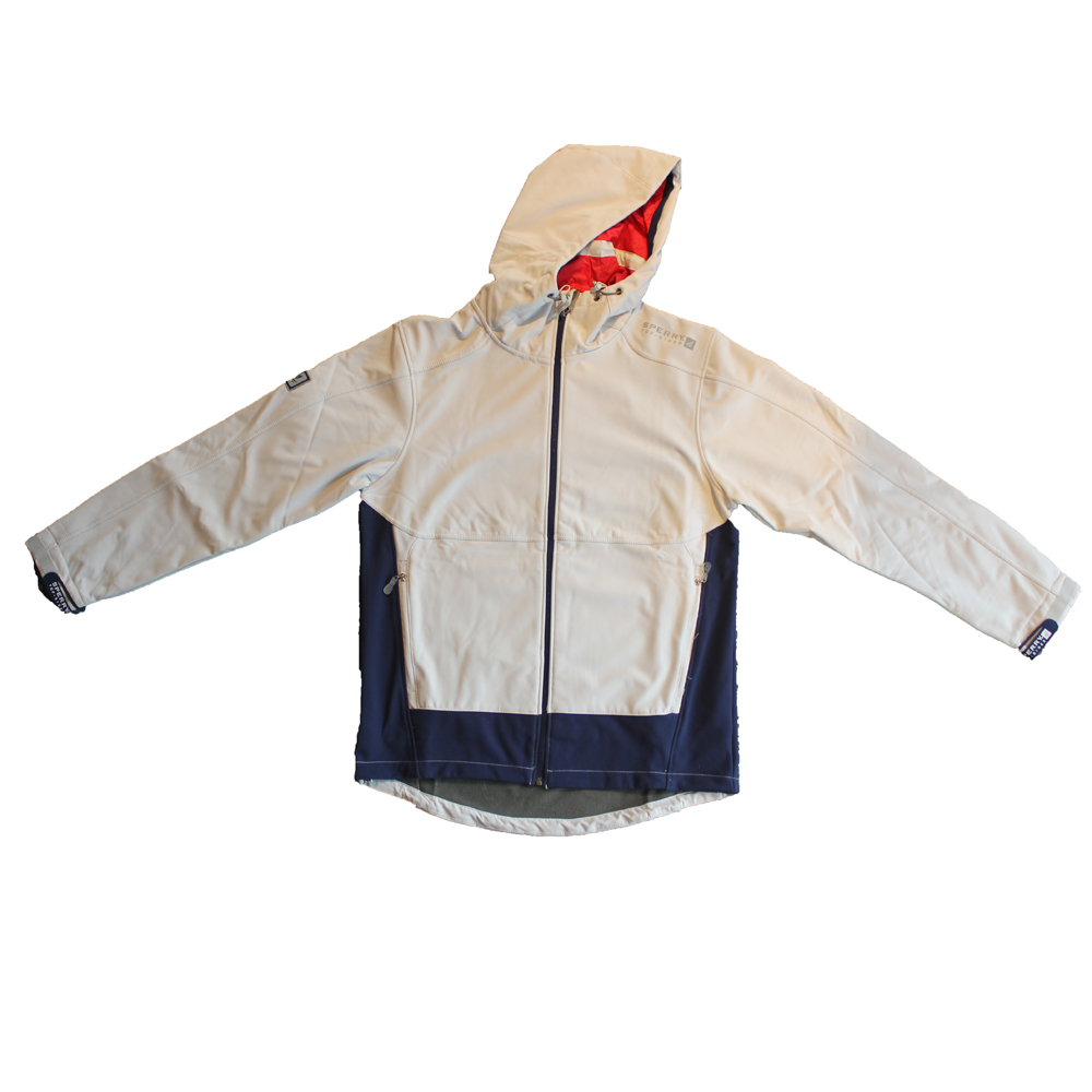 SPERRY M'S HOODED SOFT SHELL JACKET (STSM-10)