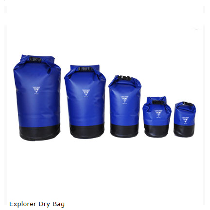 SEATTLE SPORTS EXPLORER DRY BAG BLUE 20LT