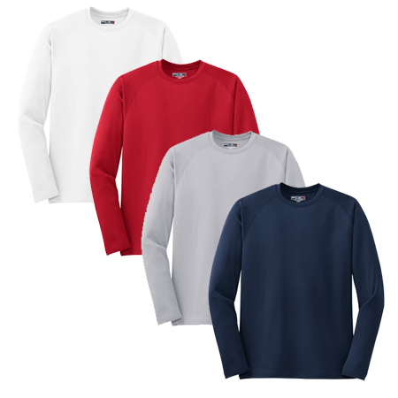 SPORT-TEK MENS LONG SLEEVE TECH TEE