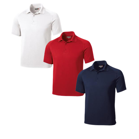 SPORT-TEK MENS DRYZONE TECH POLO