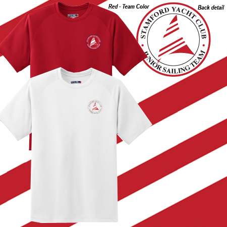 Stamford Yacht Club - Jr. Sailing Team Men's S/S Tech Tee