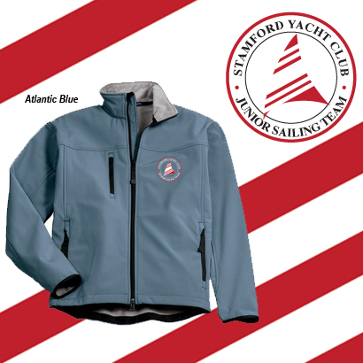 Stamford Yacht Club - Jr. Sailing Team Men's Softshell Jacket
