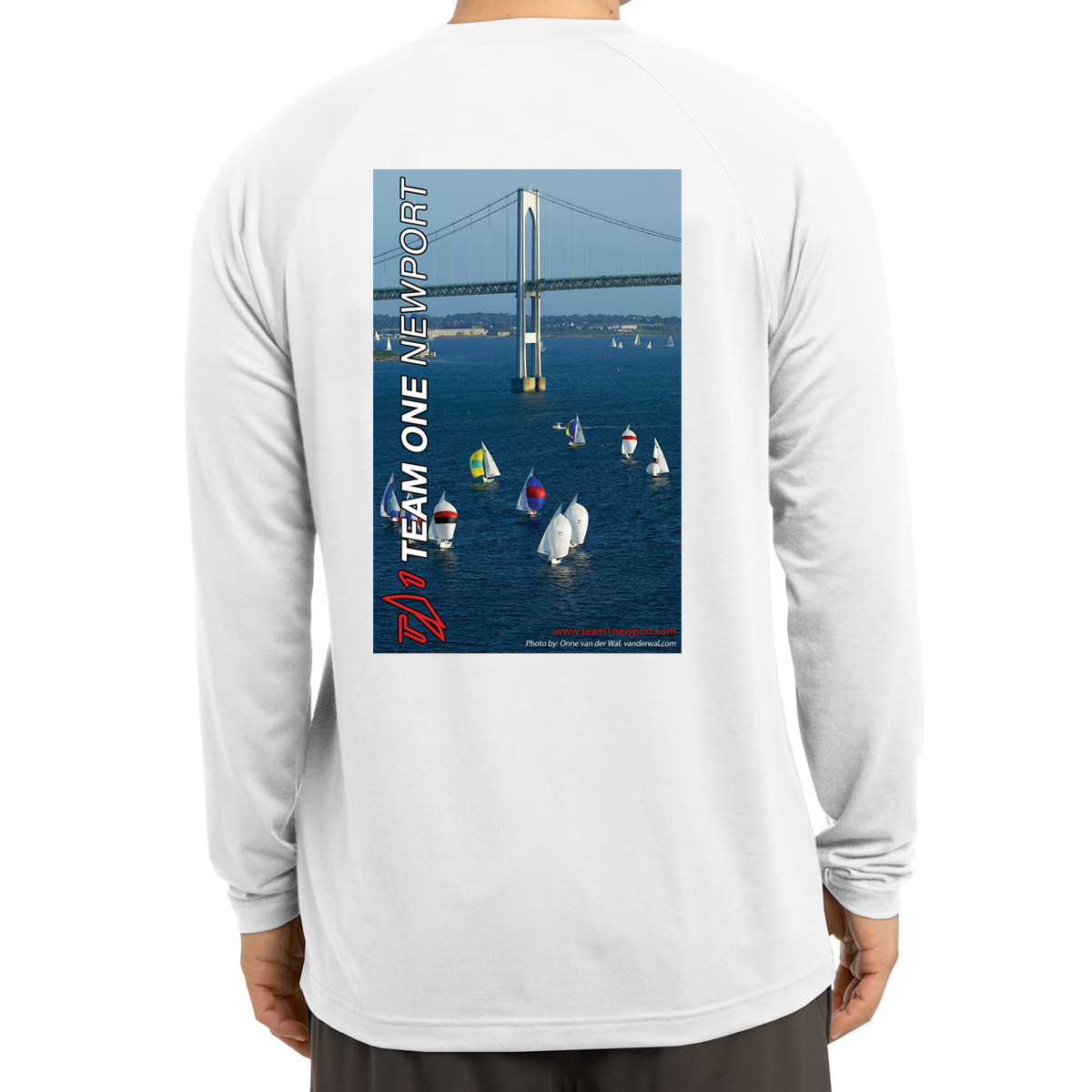 TEAM ONE NEWPORT K'S L/S TECH TEE - Shields at the Bridge