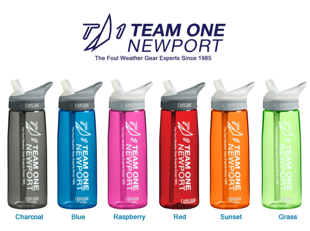 TEAM ONE NEWPORT EDDY WATER BOTTLE .75L