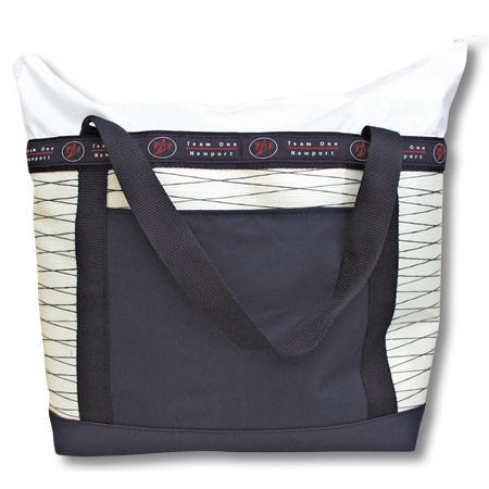 TEAM ONE ZIPPERED TOTE