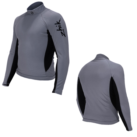 ZHIK MENS HYDROPHOBIC SPANDEX FLEECE TOP (400M)